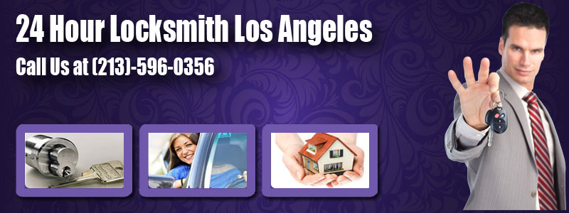 24 Hour Locksmith Los Angeles Banner